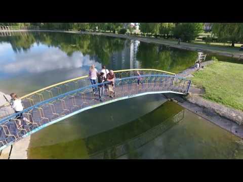 Бровари парк Перемога з квадрокоптера