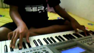Separuh aku versi keyboard techno T-9800i by yuzriel vyanizty