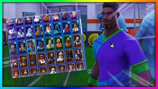 "Before You Buy ""SOCCER SKINS"" - All Back Bling Combinations in Fortnite 2019"