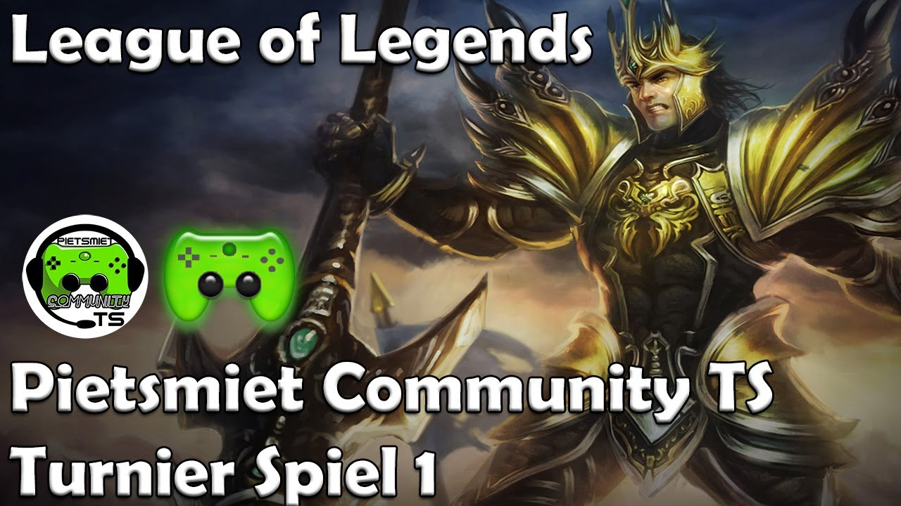 League Of Legends Turnier