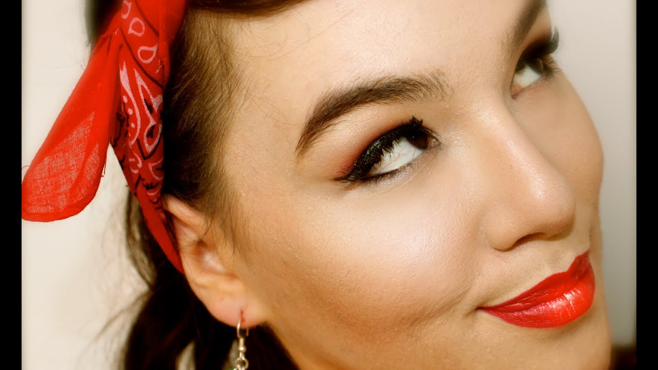 ☞TUTO☜ Rockabilly PinUp Makeup Super Sexy et Facile!