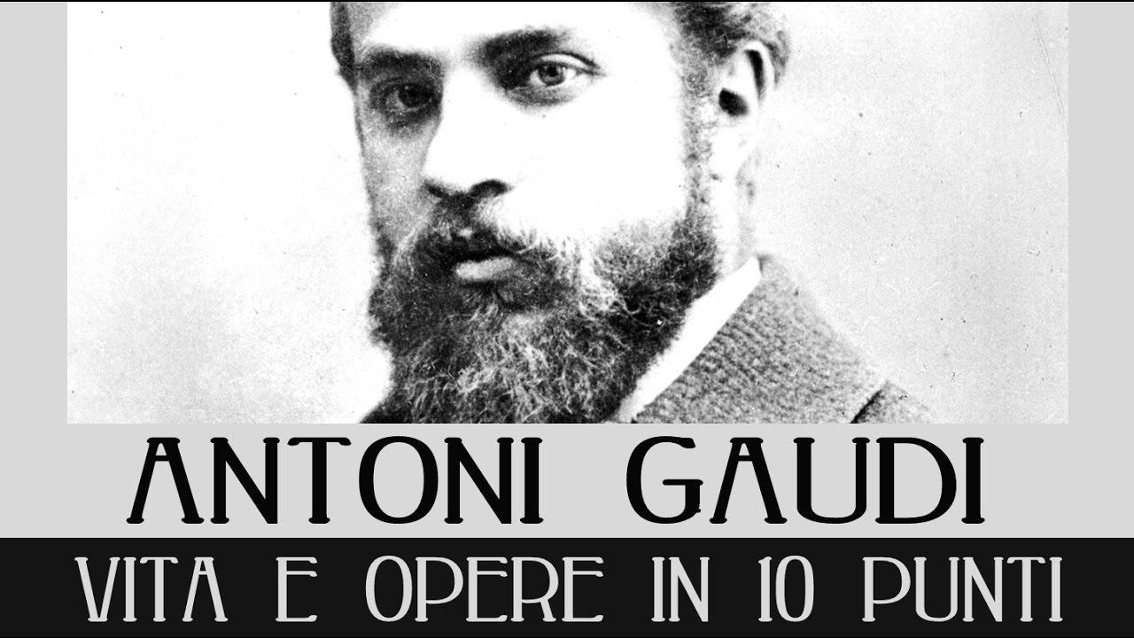 Antoni Gaud¬ Vita E Opere In 10 Punti