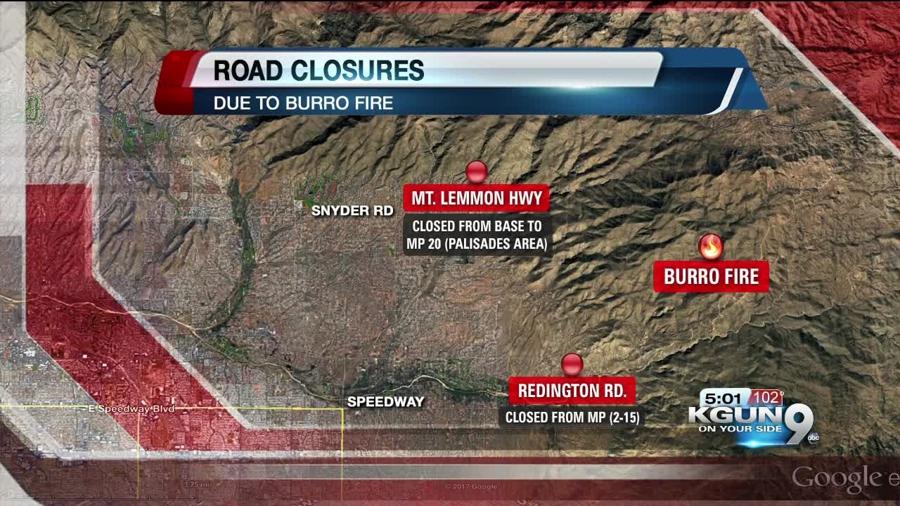 road closures due to fires - photo #33