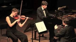 J Brahms: Hoorn trio op.40 deel 3 Adagio mesto - Finale Prinses Christina Concours