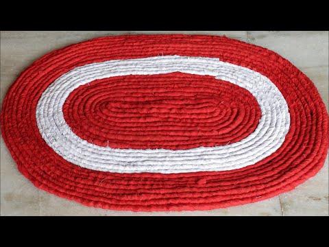 Easy and Fast Doormat Making at Home    Handmade Doormat    DIY Craft
