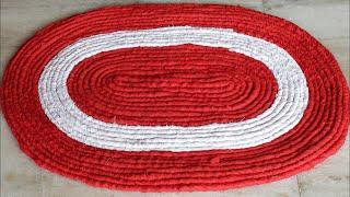 Easy and Fast Doormat Making at Home || Handmade Doormat || DIY Craft