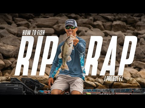 How To Fish RIPRAP! 💪 // Project E // My Tips On How To Fish Around Man-made Placed Rocks