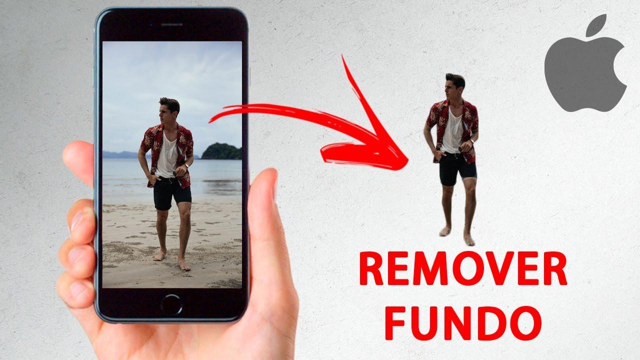 Como TIRAR o Fundo da Foto em QUALQUER Modelo de iPhone