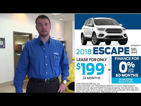 0% Finance Offers at Smail Ford - September 2018