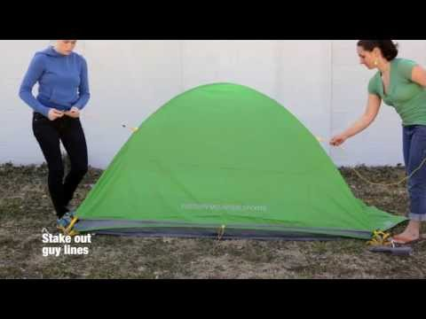 How to set up the EMS Shanty Tent: Eastern Mountain Sports