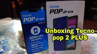 Unboxing Tecno pop 2 Plus ❤️➕✌️