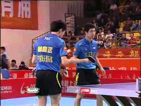 China Super League: Wang Liqin  Shang Kun VS Joo Se Hyuk  Lin Gaoyuan  Match