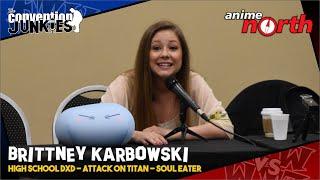 Brittney Karbowski -- best known for voicing Black Star in Adult Sw...