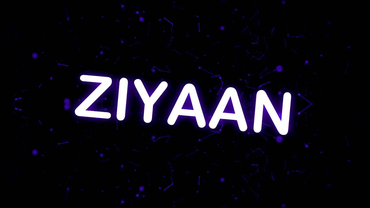 ziyan name