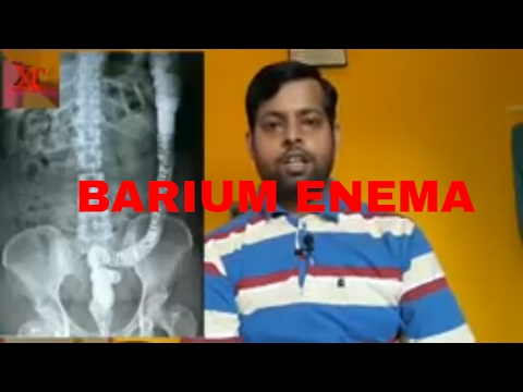 PROCEDURE OF BARIUM ENEMA, ANATOMY AND PHYSIOLOGY PART-57