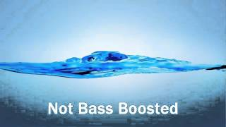 Normal Song vs. Bass Boost - Comparison