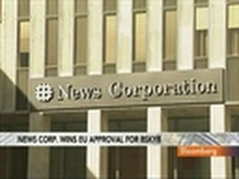 News Corp. Wins EU Antitrust Approval for BSkyB Deal