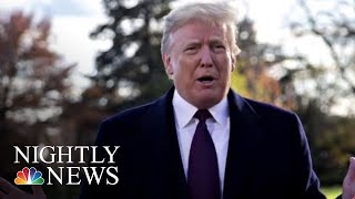 President Trump Reportedly Asked DOJ To Prosecute Hillary Clinton, James Comey | NBC Nightly News
