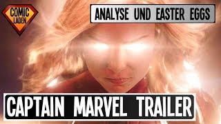 CAPTAIN MARVEL TRAILER (deutsch) – Analyse und EASTER EGGS [onsXreen]
