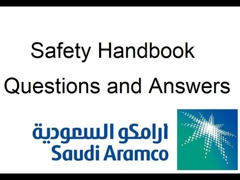 Saudi Aramco Safety Handbook Questions and Answers