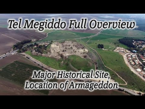 Tel Megiddo Full Length Overview Tour! Armageddon, End Times, Jezreel Valley, Holy Land, Israel!