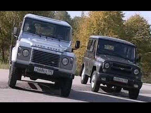UAZ Hunter Vs Land Rover Defender 90, часть 2