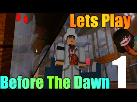 [ROBLOX: Before the Dawn] - Lets Play Ep 1 - BEST ROBLOX HORROR GAME?
