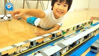 松岡さんとプラレールで遊びました【がっちゃん】Plarail thumbnail