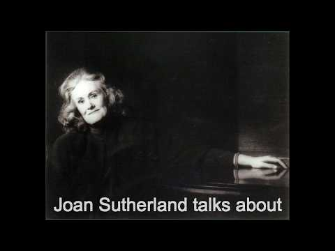 Joan Sutherland talks about Suor Angelica