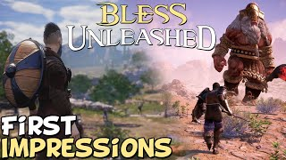 Bless Unleashed PC ṀMO First Impressions
