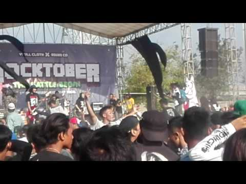 Billfold turn around Rocktober tegal