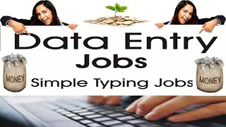 Data Entry Job Work from Home - Online without investment | #DataEntryJobs | OSL
