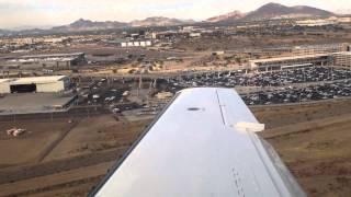 citation mustang kphx landing 25l