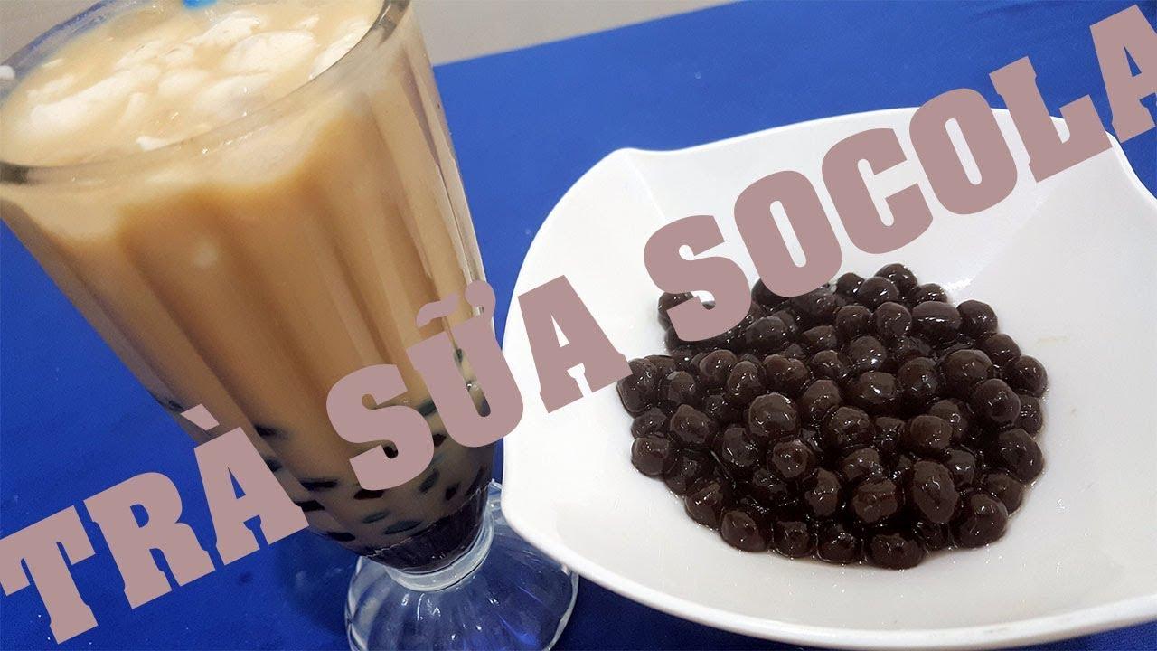Cách làm Trà Sữa Trân Châu SoCoLa dai dẻo thơm l Xanh TV