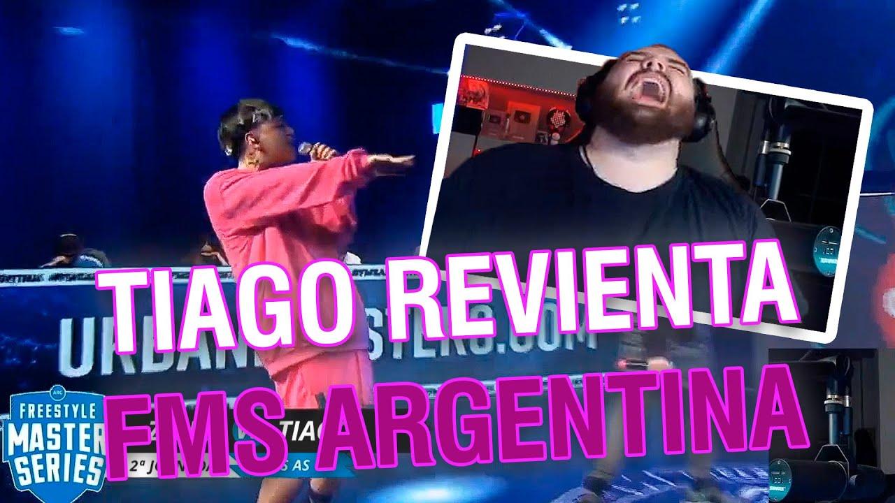 Download ¡TIAGO REVIENTA LA FMS ARGENTINA! - REACCION DE IBAI - TIAGO VS ZAINA