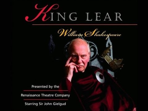 King Lear by William Shakespeare (1994) - Starring Sir John Gielgud and Kenneth Branagh