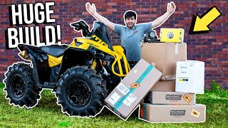 BUILDING MY 2021 Can-Am RENEGADE! Absolutely EPIC!