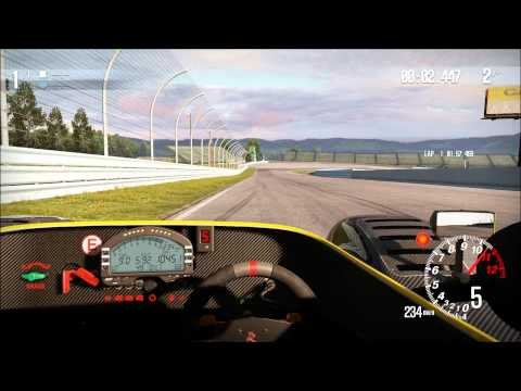 CARS (Community Assisted Racing Simulator) Alpha Footage 1080p