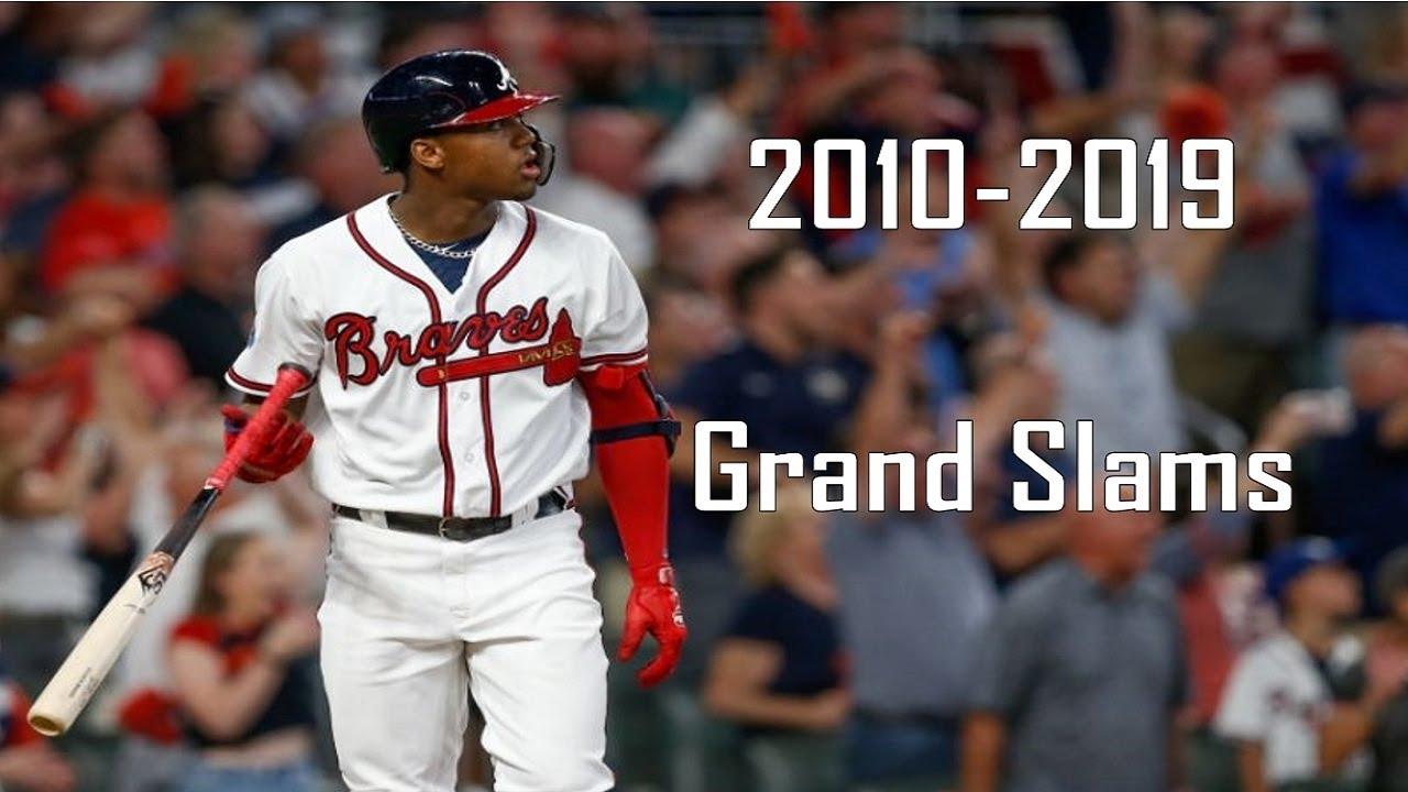 A Decade of Grand Slams | Atlanta Braves | 2010-2019