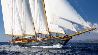 S/Y SHENANDOAH OF SARK | 54.4m Townsend-Downey 3 Mast Gaff Topsail Schooner - Classic yacht for sale