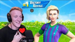 TFUE PLAYS WITH FINESSE FINISHER*SOCCER *SKIN! FORTNITE GAMEPLAY HIGHLIGHTS