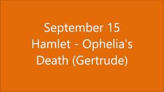 September 15 - Ophelia