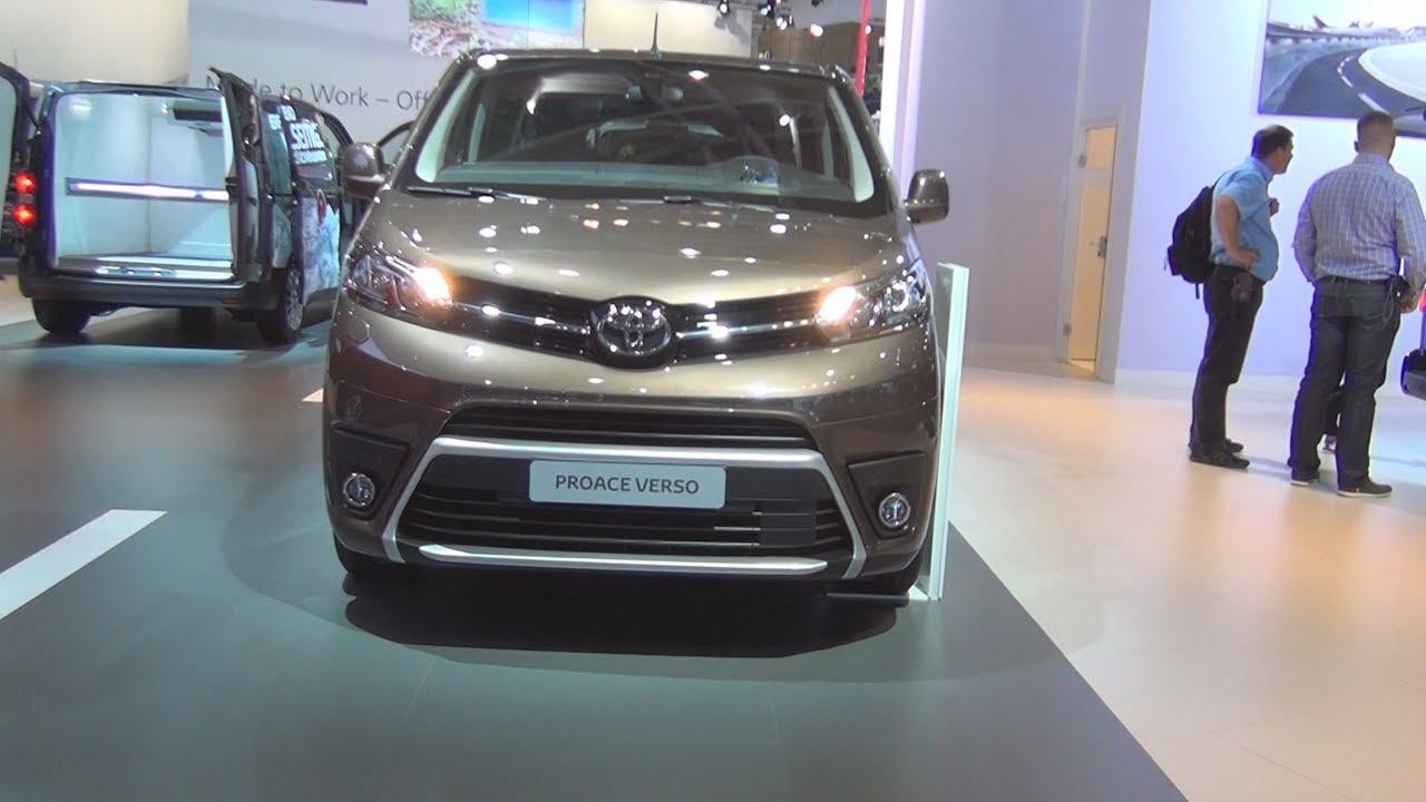 c72c8f3ab5 Toyota ProAce Verso 2.0 D-4D 150 hp Shuttle L1 Combi Van (2017) Exterior  and Interior