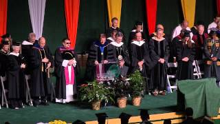 Opening Prayer - Invocation - St. Norbert College Commencement 2015