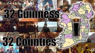 32 Guinness for 32 Counties of Ireland