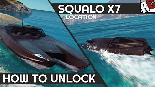 Just Cause 3 | Squalo X7 Boat Location (Best Vehicles) - Caught Em All! Achievement/Trophy