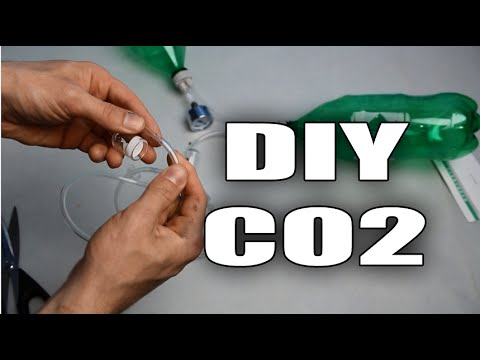 HOW TO: DIY CO2 system for aquarium plants TUTORIAL