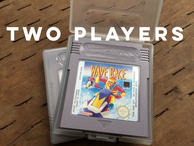 Wave Race Game Boy Two Player Link Cable Play DMG-WA-USA