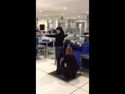 Linda at Australian Customs
