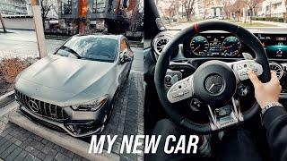 MY NUWE MOTOR - Mercedes CLA 45 AMG 2021!